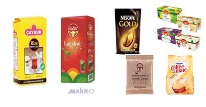 Gıda Ürünleri (çay,şeker,kahve)