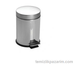 Paslanmaz-pedalli-çöp-kovasi-20lt