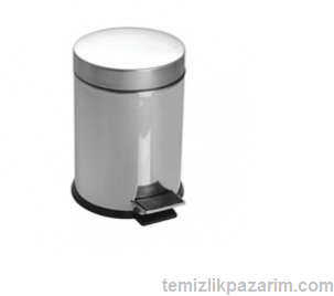 Paslanmaz-pedalli-çöp-kovasi-5lt