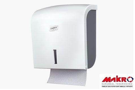Z-katlı-dispenser-havlu-aparatı-beyaz