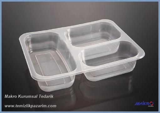 Üç-bölmeli-plastik-yemek-kabı-şeffaf