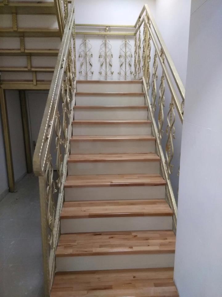 Afyon Mobilya Ahşap Merdiven